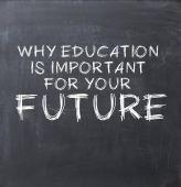 Education importance — Stock Photo