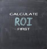 Roi concept — Stock Photo
