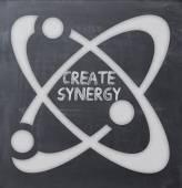 Create synergy — Stock Photo