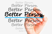 Better person — Stock Photo