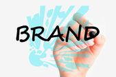Crisp brand concept — Stockfoto
