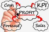 Business plan setup — Stock Photo