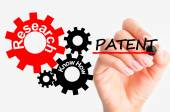 Industrial patent concept — Stock Photo