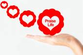 Praise life concept — Stock Photo