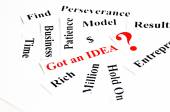 Got an idea? — Stock Photo