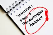 Recruitment agencies — Foto Stock