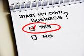 Start own business — ストック写真