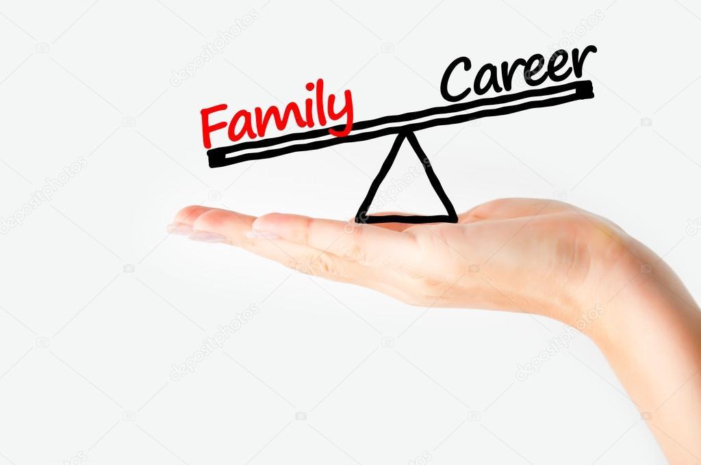 Family Balance Balance Family Versus Career