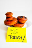 Start diet today — Stock Photo