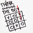 Think outside the box — Stock Photo #56842349