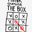 Think outside the box — Stock Photo #56842353