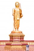 Walking Buddha.(This image contain clipping path) — ストック写真