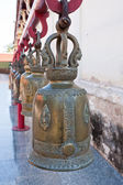 Big bell with at wat phra that chor hae.lanna northern,thailand. — Stock Photo