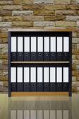 Bookshelf. — Stock Photo