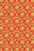 Gold flower thai art design. — Stock Photo