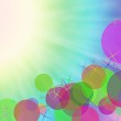 Abstract on a colorful background digital bokeh effect. — Stock Photo #53661259