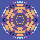 Circular geometric background — Stock Vector