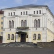 Постер, плакат: The building rates Nicholas 2 in Mogilev during the First World War Belorussia