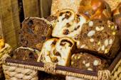 Assortment of different types of bread — Stock Photo