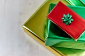 Cristmas gifts — Stock Photo