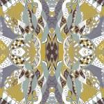 Traditional ornamental paisley bandanna. — Stock Vector #78538218