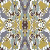 Traditional ornamental paisley bandanna. — Stock Vector