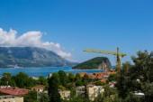 Adriatic sea mountains — Stock Photo
