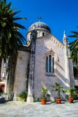 The Cathedral on the island — Foto Stock