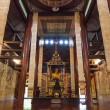 Lanna style wooden temple in thailand — Stock Photo #52722003