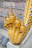 Five heads Naga statue at The Grand Palace — Stock Photo