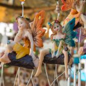 Fairy handmade figurine — Stock Photo