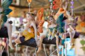 童话手工雕像 — 图库照片