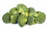西兰花蔬菜在白色背景上孤立 — 图库照片