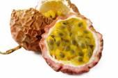 Closeup passionfruit — Stock Photo