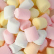 Small colored puffy marshmallows — Stock Photo #53738181