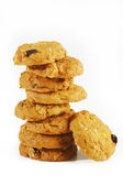 Oatmeal Raisin Cookies — Stock Photo