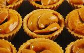 Tart with cashew nut  — Stock Photo