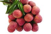 Fresh lychees  — Stock Photo