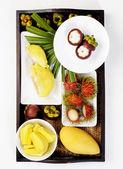 Fresh fruit mix — Stock Photo