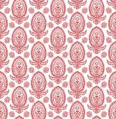 Indian abstract floral pattern — Stock Vector