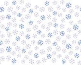 Snöflingor seamless mönster, bakgrund — Stockvektor