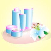 Range of creams — Stock Photo