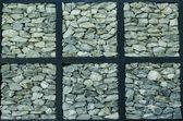 Tekstura kamień ściany na tle — Zdjęcie stockowe