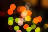 Background bokeh christmas lights — Stock Photo