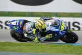 Valentino ROSSIITAMovistar Yamaha MotoGP — Stock Photo