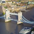 Ariel View of Tower Bridge and the river Thames — Stock Photo #59174751