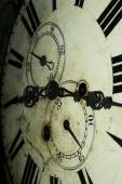 Old Fashioned Clock Face — Stock Photo
