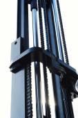 Forklift Mast Lens Flare — Stock Photo