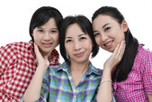 アジアの家族 — ストック写真