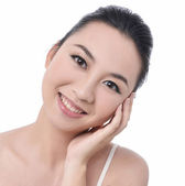 Beauty of a woman face — Stock Photo